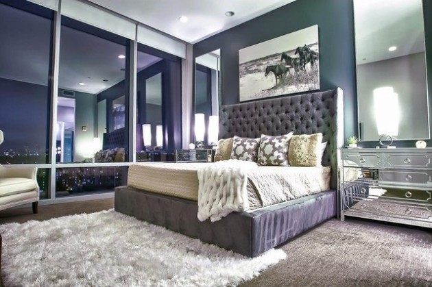 27 Creative Ways To Decorate Fantastic Feminine Glam Bedroom