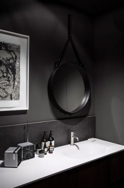 30 Astonishing Black Bathroom Designs