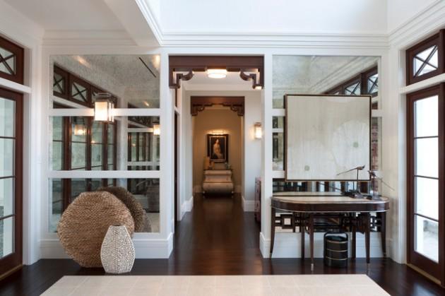 23 Beautiful Eclectic Hallway Design Ideas