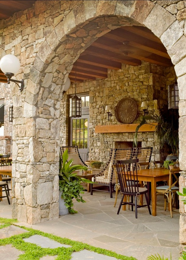 22 Awesome Rustic Patio Design Ideas For Everyday Enjoyment on Patio Decor Ideas id=55873