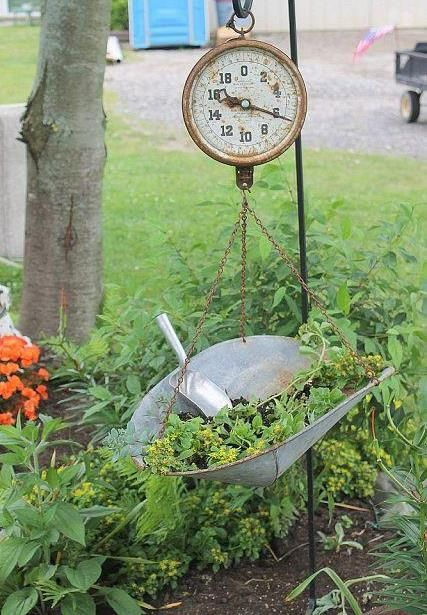 30 Most Amazing Vintage Garden Decorations