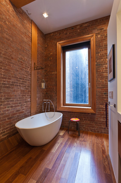 27 Absolutely Gorgeous Bathroom Design Ideas With Brick Walls