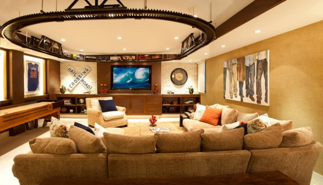 48 The Most Cool Creative Ideas How To Decorate Your Basement Wisely Adorable Basement Living Rooms Creative