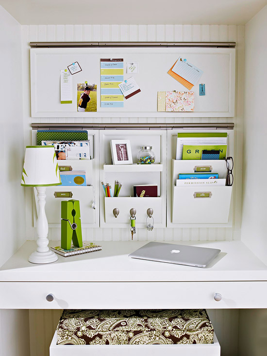 31 helpful tips and diy ideas for quality office organisation - How to organize an office desk ...