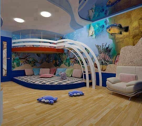 30 Amazingly Fun Themed Kid's Rooms