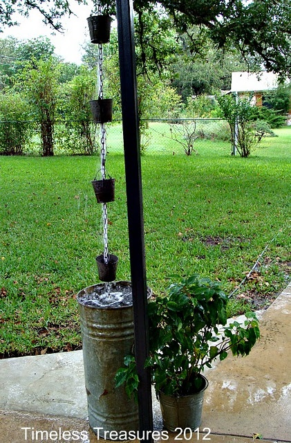 20 Creative DIY Rain Chains