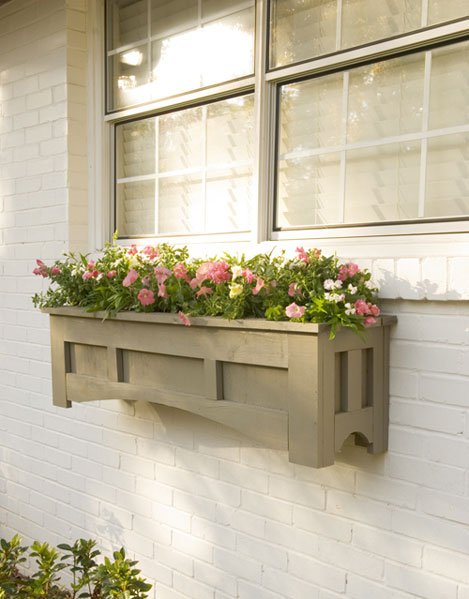 Get ready for the spring 20 charming diy window boxes ideas for Window design box
