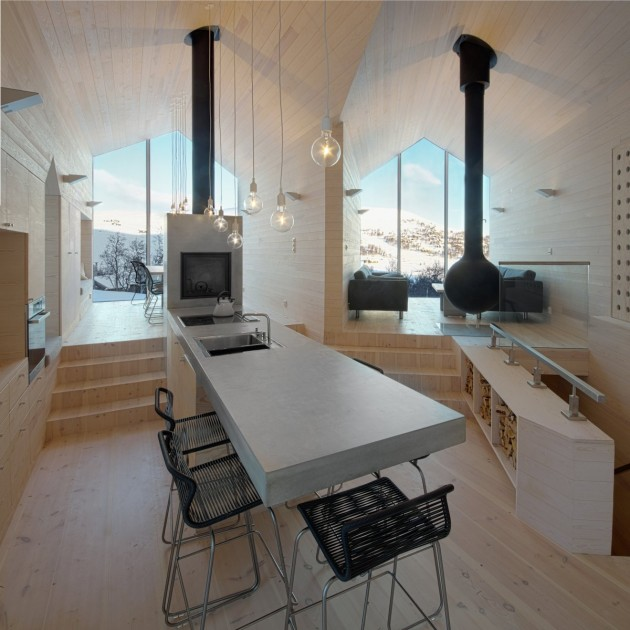 Split View Mountain Lodge in Havsdalen, Norway