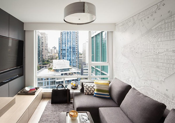 Classy Contemporary Condo in Coal Harbour, British Columbia