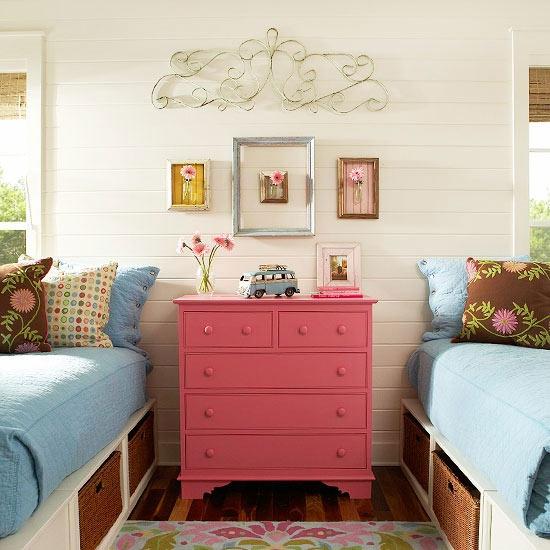 22 Adorable Girls Shared Bedroom Designs