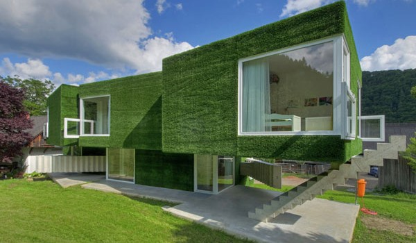 Synthetic Grass-Covered Residence in Frohnleiten, Austria