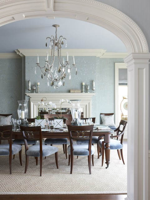 Dining Room Ideas Traditional Part - 16: 19 Magnificent Design Ideas Of Classy Traditional Dining Rooms