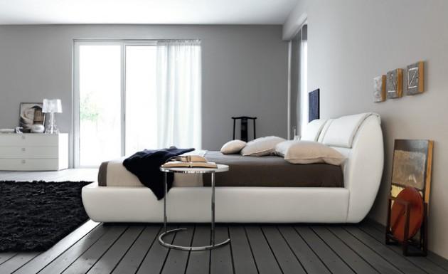 30 Stunning Bedroom Design Ideas in Grey Color