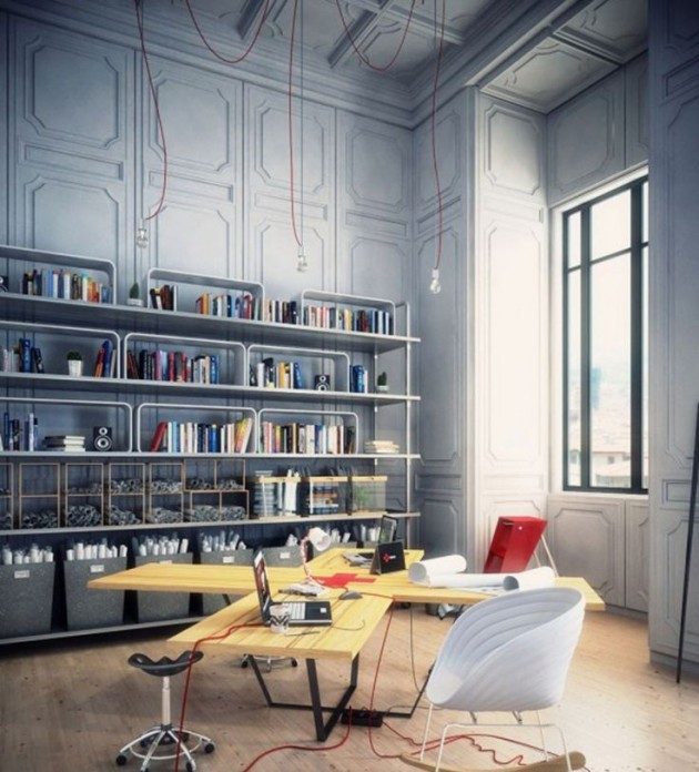 Home Office And Studio Designs: 20 Inspiring Artist Studio Designs