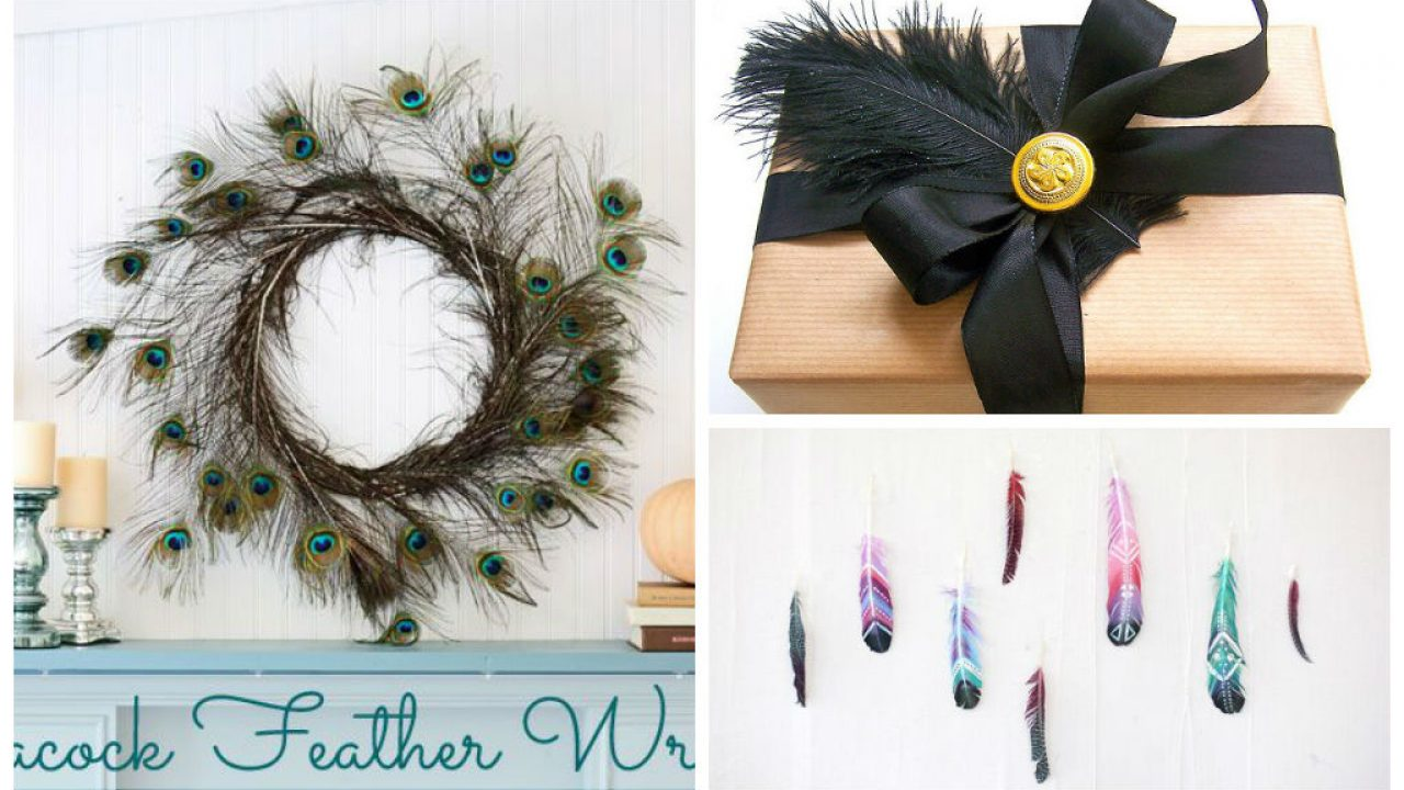 25 Lovely Diy Feather Crafts Ideas