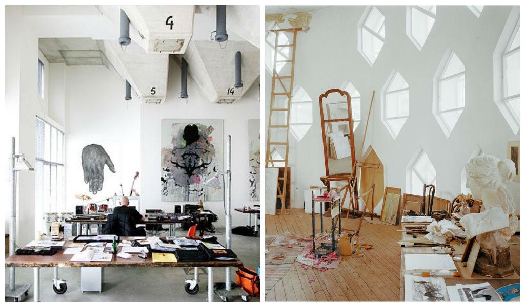 20 inspiring artist studio designs for Gg studios interior design