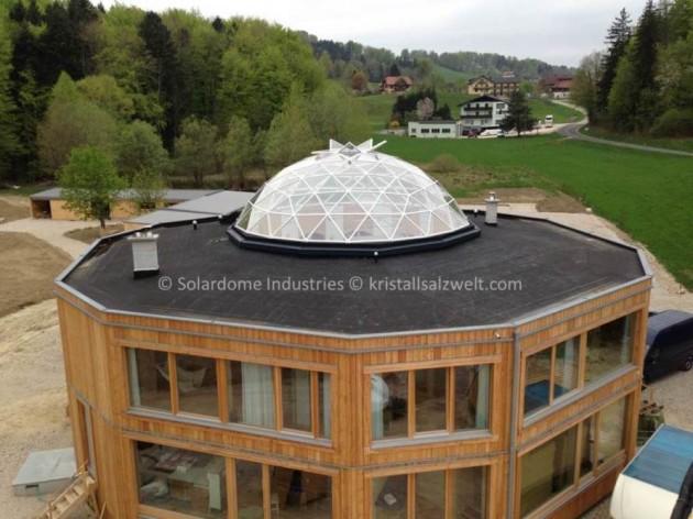 Kristall Salz Welt in Lake Attersee, Austria