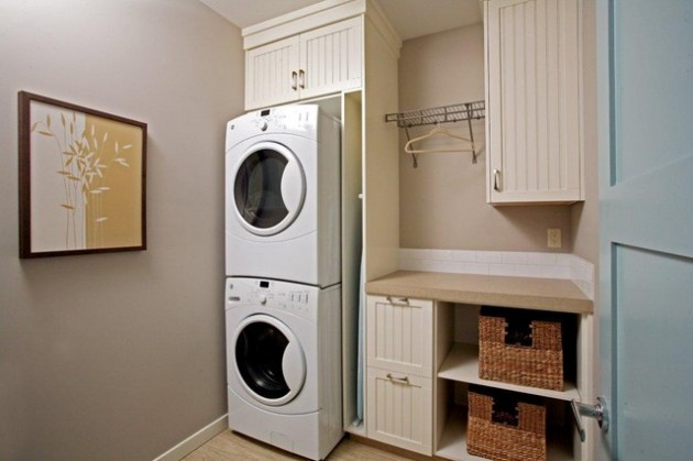 efficient use of the space 19 small laundry room design ideas - Laundry Design Ideas