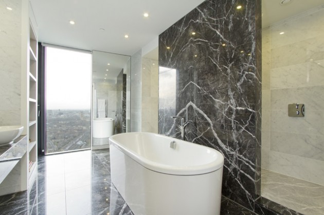 27 Exquisite Marble Bathroom Design Ideas