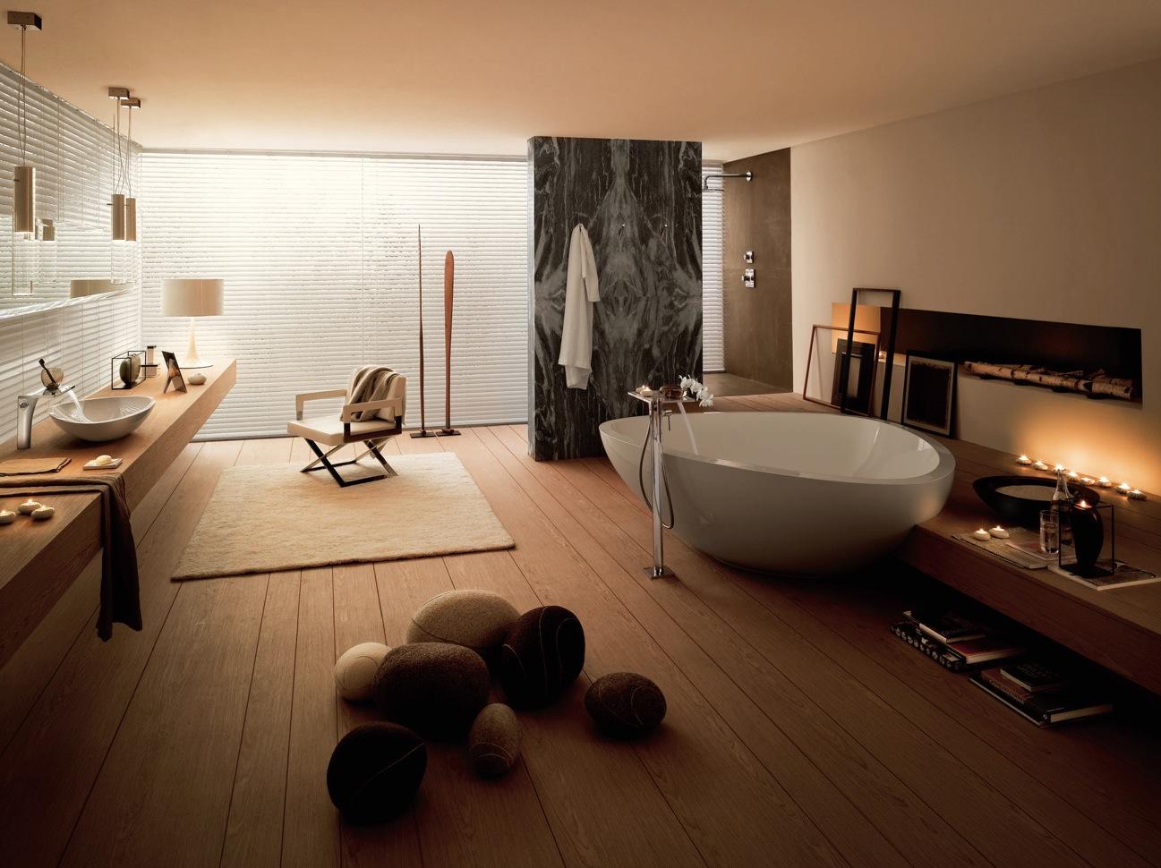 18 exquisite wooden bathroom design ideas