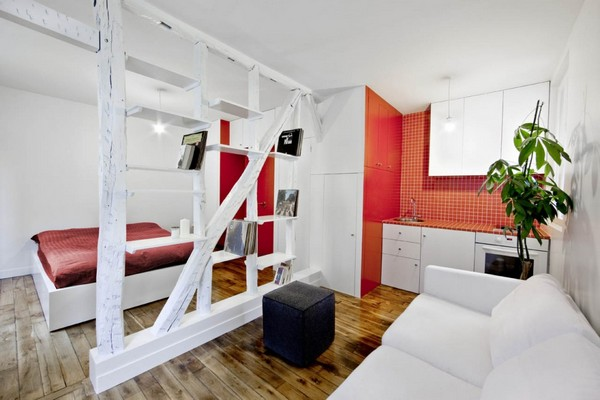 Tiny Home Designs: 6 Smart Small Studio Apartment Design Ideas With A Big