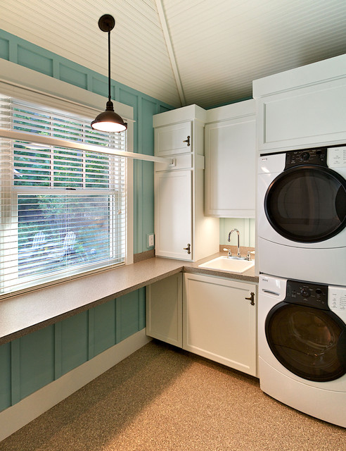 efficient use of the space 19 small laundry room design ideas - Laundry Room Design Ideas