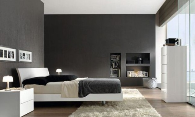 17 Spectacular Black and White Minimalist Bedrooms for More Sophisticated Home