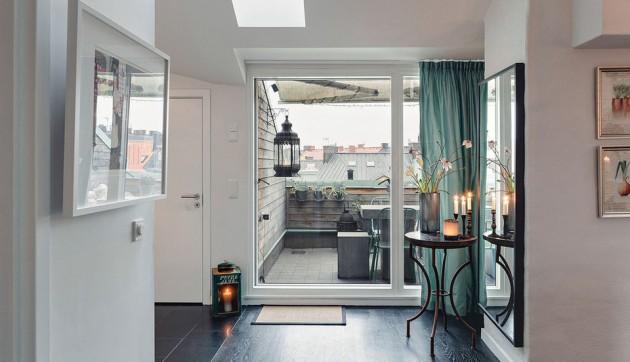Amazingly Gorgeous Loft Design in Stockholm, Sweden