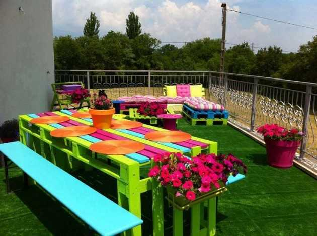 Easy and fun diy outdoor furniture ideas 22 easy and fun diy outdoor furniture ideas solutioingenieria Choice Image