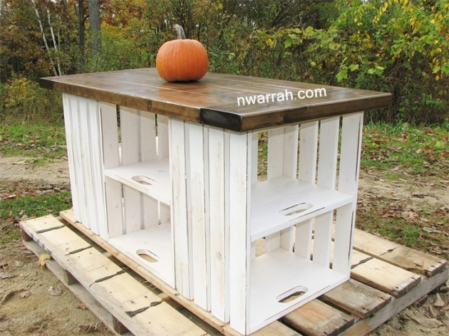 diy kitchen island ideas. 30 Rustic DIY Kitchen Island Ideas