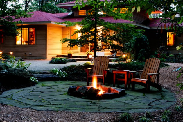 19 impressive outdoor fire pit design ideas for more attractive backyard - Outdoor Fire Pit Design Ideas