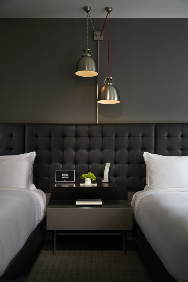 Hotel Room Designs: Wonderful Retro Interior Design- Hotel Zetta In San Francisco