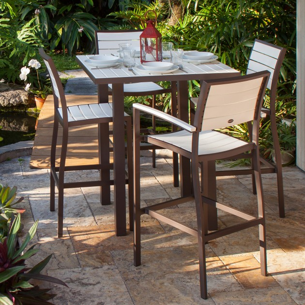 15 Beautiful Patio Dining Set Designs - ArchitectureArtDesigns.