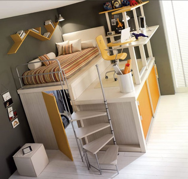 Awesome Beds: 25 Cool And Fun Loft Beds For Kids