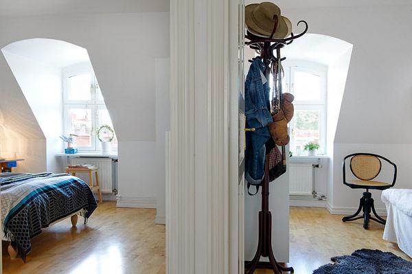 Stunning Attic Apartment in Gothenburg, Sweden