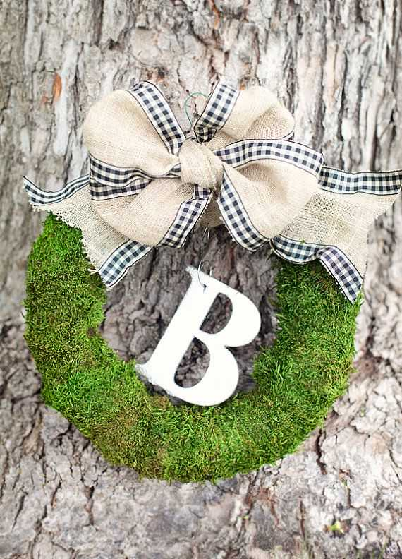 30 Blooming DIY Monogram Letter Ideas