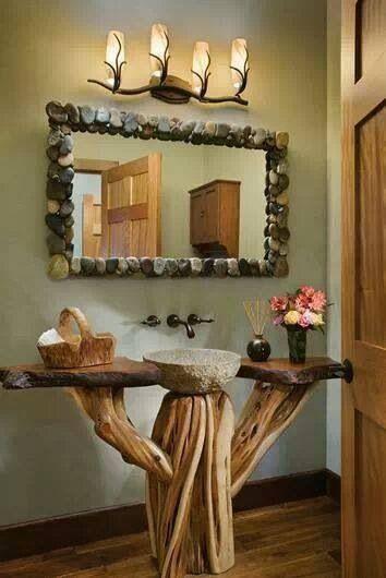 25 Amazing Country Bathroom Designs