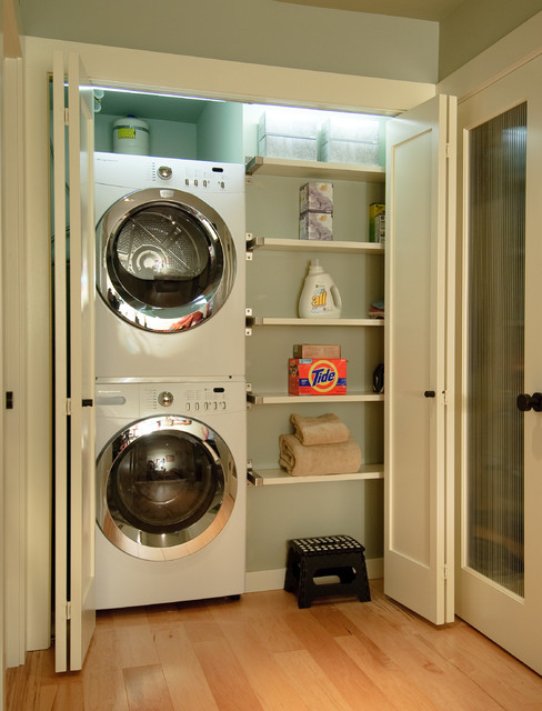 Awesome Efficient Use Of The Space 19 Small Laundry Room Design Ideas
