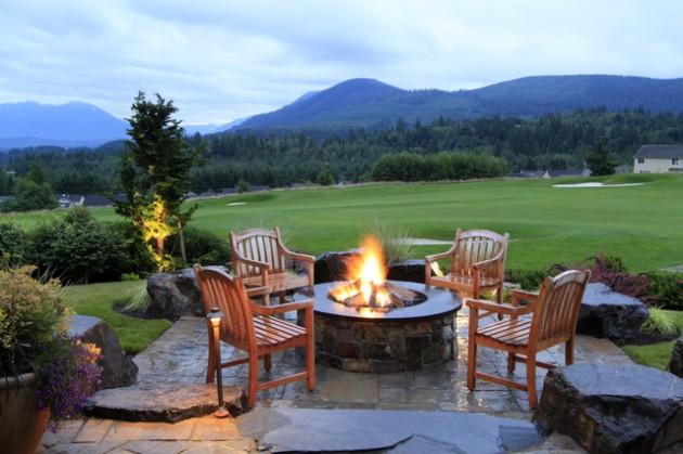 19 Impressive Outdoor Fire Pit Design Ideas For More Attractive Backyard