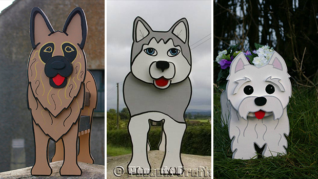 17 Funny & Cute DIY Dog Planters