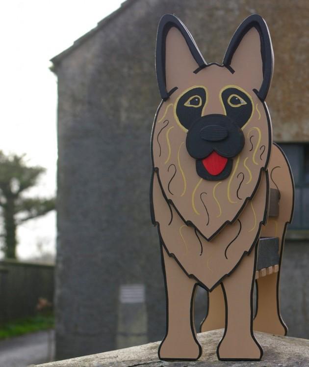 17 Funny & Cute DIY Dog Planters