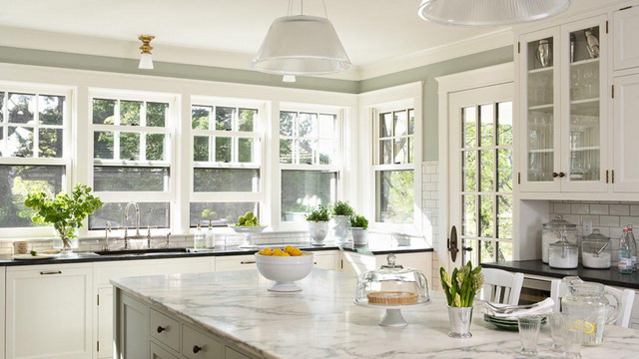 9 Bright and Airy Kitchen Design Ideas