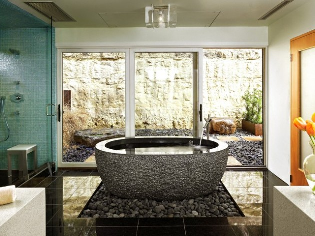 21 Dream Master Bathrooms That Will Leave You Breathless  21 Dream Master Bathrooms  1756 630x472