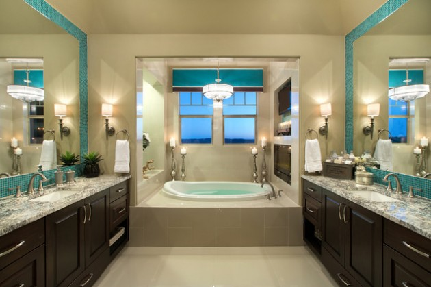 21 Dream Master Bathrooms That Will Leave You Breathless  21 Dream Master Bathrooms  1846 630x419