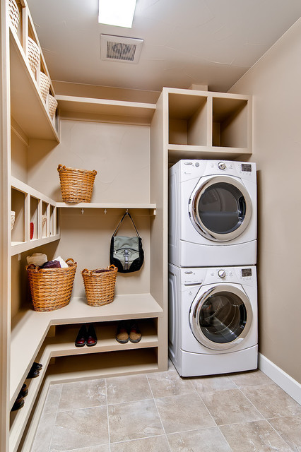 Efficient use of the space 19 small laundry room design ideas - Laundry room layout ideas ...