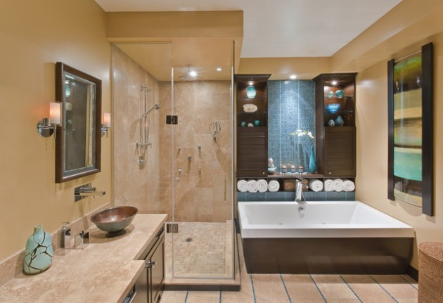 21 Dream Master Bathrooms That Will Leave You Breathless  21 Dream Master Bathrooms  1945 630x431