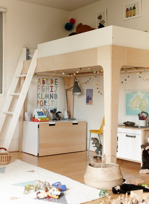 25 cool and fun loft beds for kids Awesome bunk beds for kids