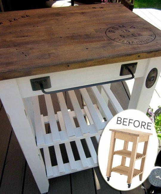 30 Rustic DIY Kitchen Island Ideas
