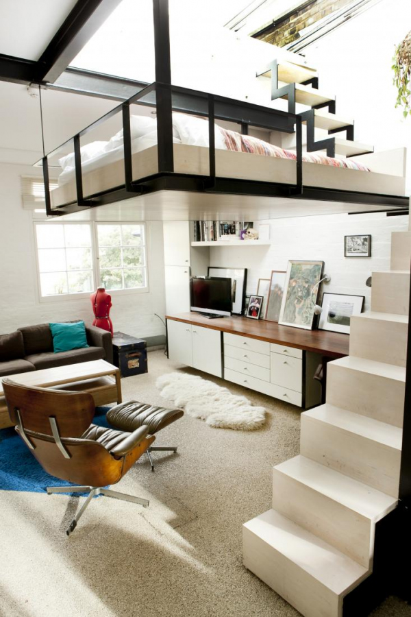 6 smart small studio apartment design ideas with a big