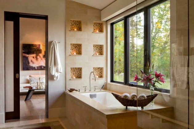 21 Dream Master Bathrooms That Will Leave You Breathless  21 Dream Master Bathrooms  2037 630x419